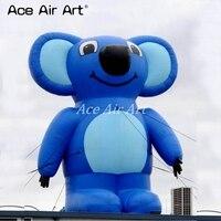 Добавить свой логотип на гигантские рекламные надувные Коала мультфильм Реплика с воздуходувки для Австралии события