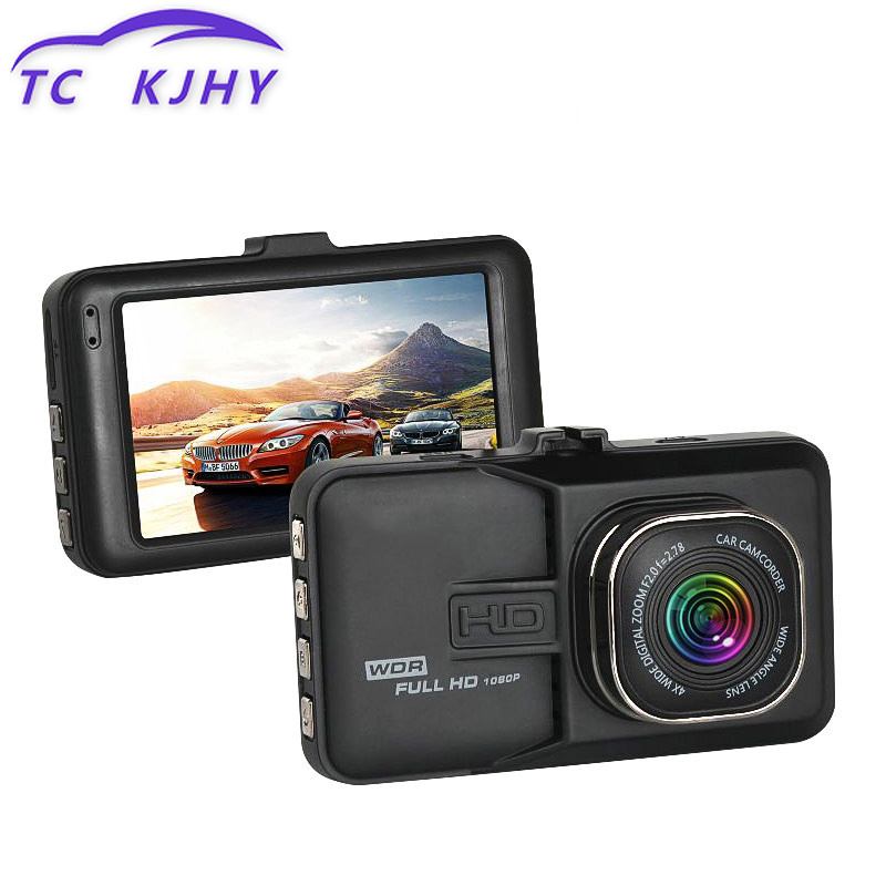 HD 1080P Dashcam 170 Wide-angle Driving Recorder Vehicle Gravity Sensing 3 Inch Dash Camera Mini Dash Cam Night Vision Car DVR цена