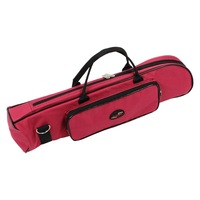SALES 5 xGood Deal Gloednieuwe Messing Wind Musical Trompet Soft Case Canvas Gig Bag Rood