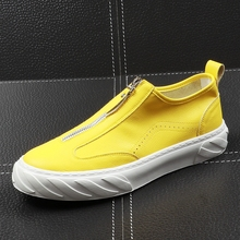 jaune loisirs luxe chaussures