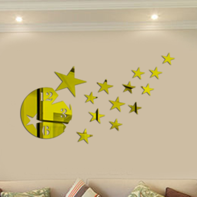 Star Mirror Wall Decor compare prices on mirror stars- online shopping/buy low price