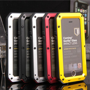 Image 5 - Luxury Doom Armor Life Shock Dropproof Shockproof Hybrid Metal Aluminum Protective Case for iPhone 8 7 5 5S SE X 6 S 6S Plus