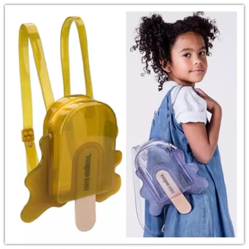 Melissa kids Shoes Original Princess Popsicle Bag Girl Jelly Sandal 3 Color