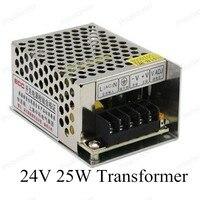 DC 24 V 25 W 220 V Anahtarı Sürücü Voltaj aydınlatma Trafo LED Şerit Işık Ekran için Düzenlenmiş Anahtarlama güç Kaynağı|Voltaj Regülatörleri|Otomobiller ve Motosikletler -