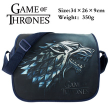 2016 Anime Game of Thrones Messenger Bag Cosplay Shoulder Travel Bag Canvas Handbag School Bags