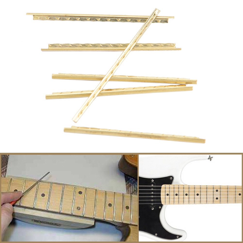 Useful 1set 21 Fingerboard Frets 2.0mm Classical Acoustic Guitar Fret Wire Copper Clear-Cut Texture Stringed Instruments Sports & Entertainment