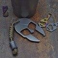 TC4 титана сплав Спартан открывалка для бутылок EDC инструмент портативный мульти инструменты аксессуары брелок для кемпинга на открытом воз...