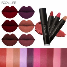 FOCALLURE New 19 Colors Matte Lipstick Lips Makeup Cosmetics Waterproof Pintalabios Batom Mate Lip Gloss Rouge a Levre Labial