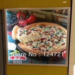 Darmowa wysyłka restauracji tablica menu aluminiowa ramka led reklama podświetlana a3