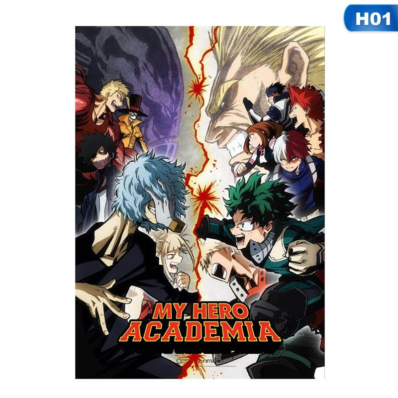 Poster Anime My Hero Academia All Might Wall Painting Home Decor 42X30cm ~