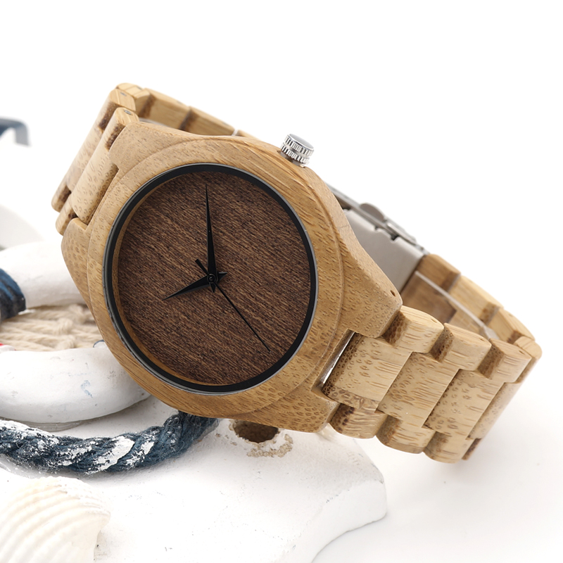 ФОТО BOBO BIRD G29 New Fashion Bamboo Wristwatches Janpan Movement Quartz 2035 Men's Luxury Brand Designer Wood Bamboo Watches Men