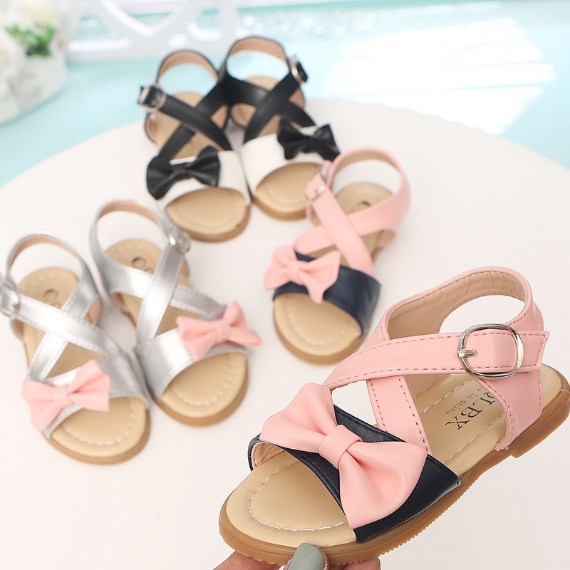 2018 Fashion flower summer high quality children sandals hot sales casual noble breathab ...