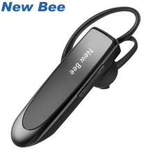 New Bee Hand free Wireless Bluetooth Earphone Mini Bluetooth Headset Headphones with Mic 22H Music Play