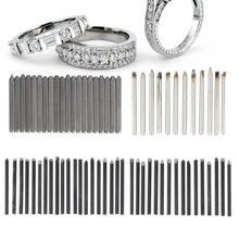Pro Jewelry Anvil dłuto sprzęt zestaw do obróbki biżuterii Making narzędzie do rzeźbienia jubiler DIY ręcznie rzeźbiona biżuteria złotnik s