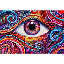 beautiful eyes diamond Embroidery diy painting mosaic 3d cross stitch picture H780