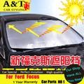 Parasol coche que labra Para Ford Focus 2012-2015 Para Ford Focus Sol frente y parte posterior de archivos de windows visor AUTO PRO car styling coche