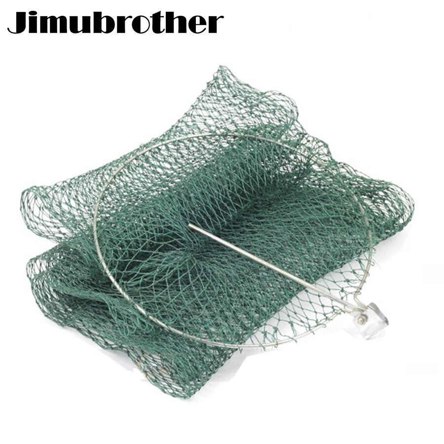 Folding nylon net fishing tackle and small mesh for Small fishing net