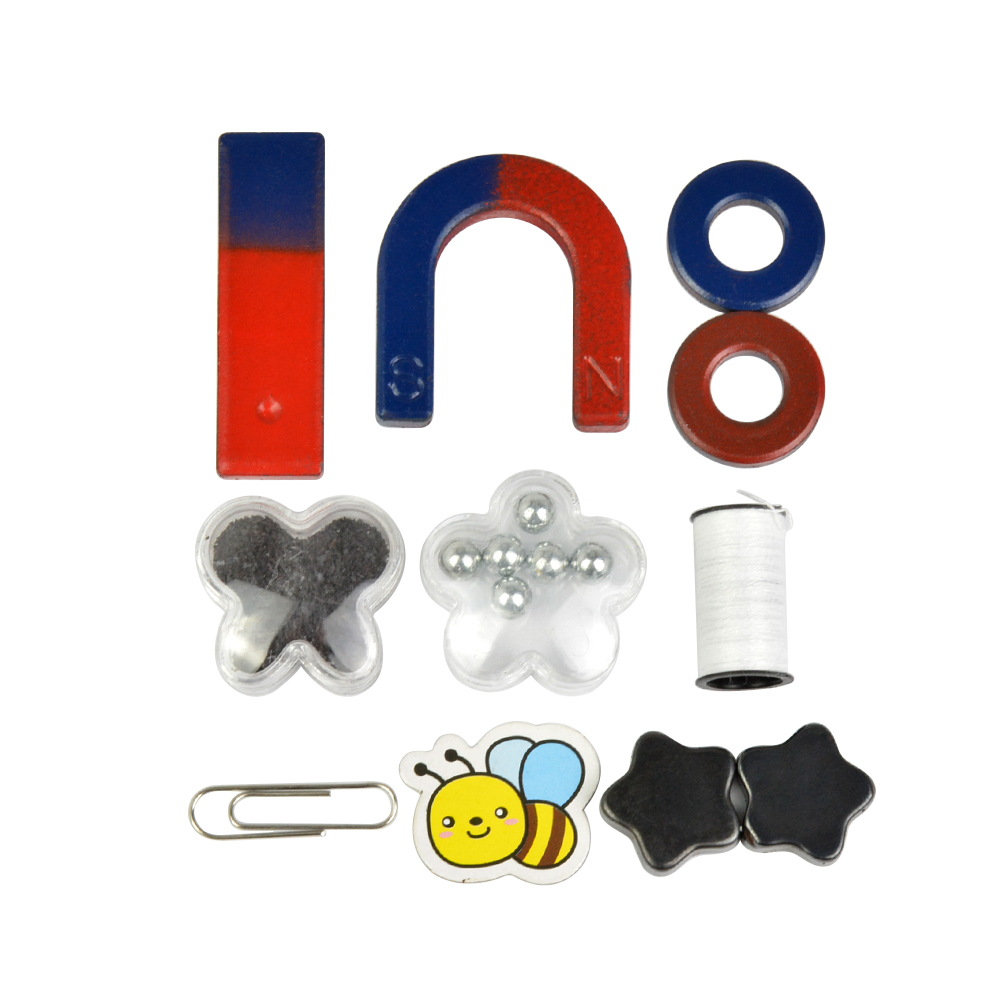 1set Ferrite magnet for Education Science Experiment Students teaching magnets horseshoe ring U-shaped nicuzn ferrite