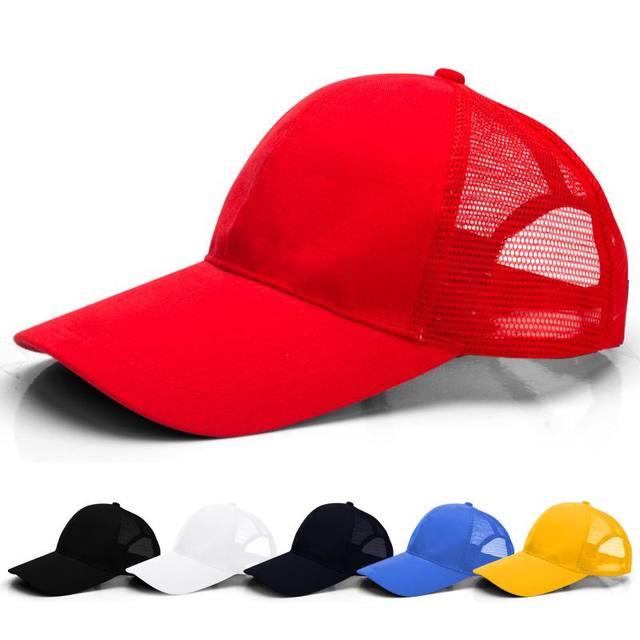 847c39e2c31 Cheap unisex baseball cap wholesale male mesh hat good quality female breathable  caps spring and summer visor 10pcs lots
