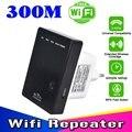 2016 Wifi Repetidor 300 Mbps Wireless-N Mini-roteador AP Extender Client Bridge Amplificador Impulsionador 802.11b/g/wi-fi n repetidor