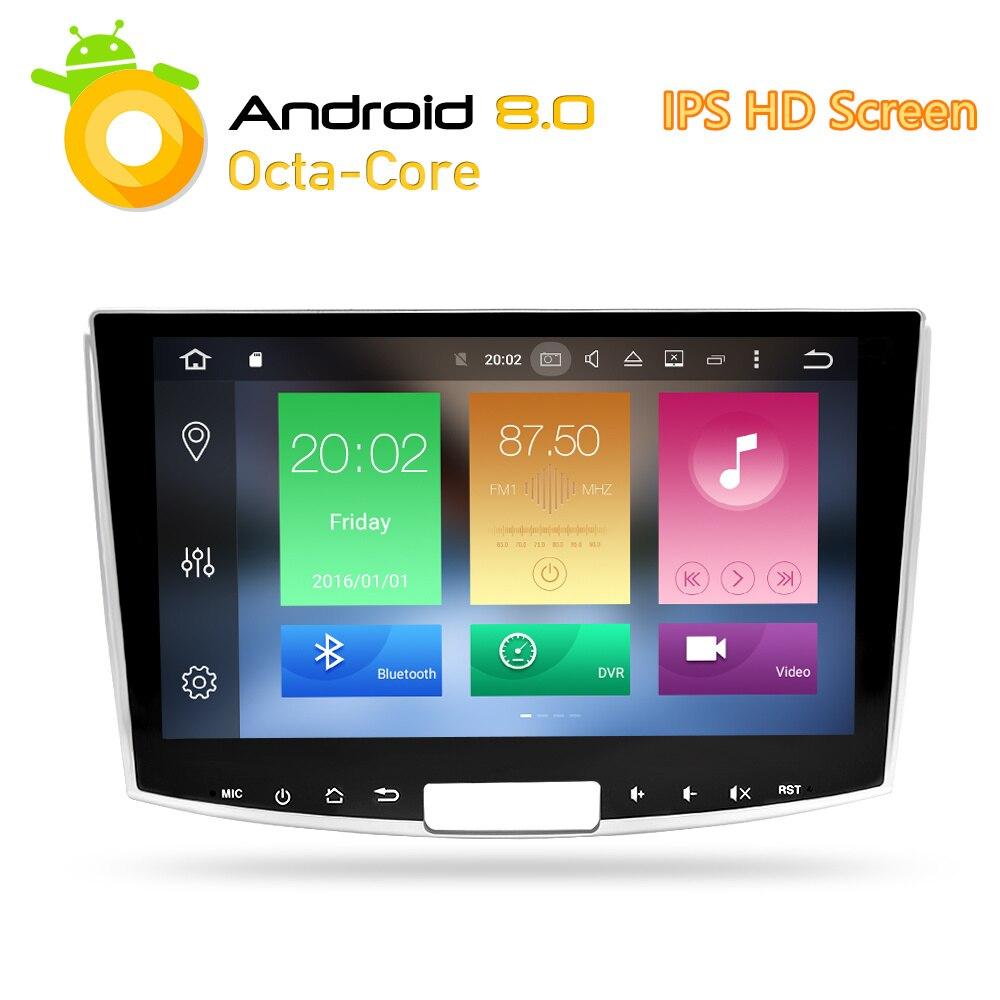 Navigation pour Passat B6 B7 CC Magotan 2013 2014 2015 Android 8.0 Voiture DVD Stéréo GPS Glonass Auto Multimédia Radio lecteur