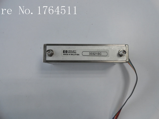 [BELLA] ORIGINAL Agilent 33321SC 70dB DC-4GHZ Programmable Electrically Adjustable Stepping SMA Ring