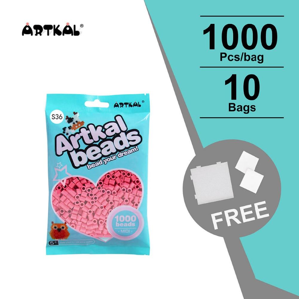 10 påsar S-5mm artkal pärlor 1000st / väska perler järnpärlor eduktionella leksaker DIY kreativ gåva SB1000-10