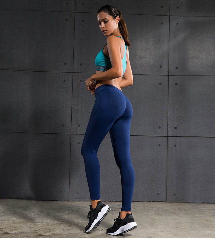 Women Yoga Pants Sports Exercise Tights Fitness Running ...