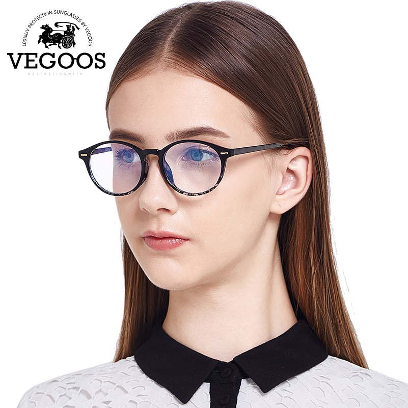 VEGOOS Designed Brand Men Women Glasses Acetate Stainless Steel frame font b new b font design