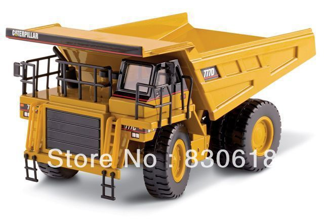 Norscot 1/50 DieCast model Caterpillar CAT 777D Off Highway Truck 55104 Construction vehicles toy norscot 1 50 siecast model caterpillar cat ap655d asphalt paver 55227 construction vehicles toy