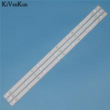 New 7 Lamp 614 mm LED Backlight Strip For Philips 32PHH4309/60 32PFT4309/60 32PFT5300/60 32inch Bar Kit TV LED Line Band HD Lens