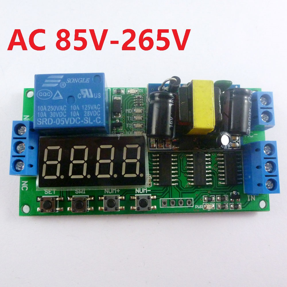 Buy Plc Relays And Get Free Shipping On Circuit Breaker Timer Ebay