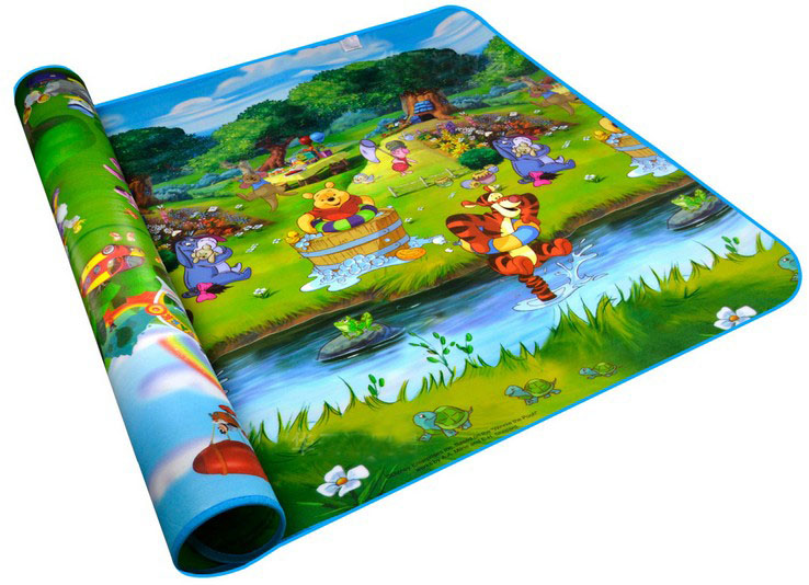 double side baby character play mats large size toddler crawling game pads in play. Black Bedroom Furniture Sets. Home Design Ideas