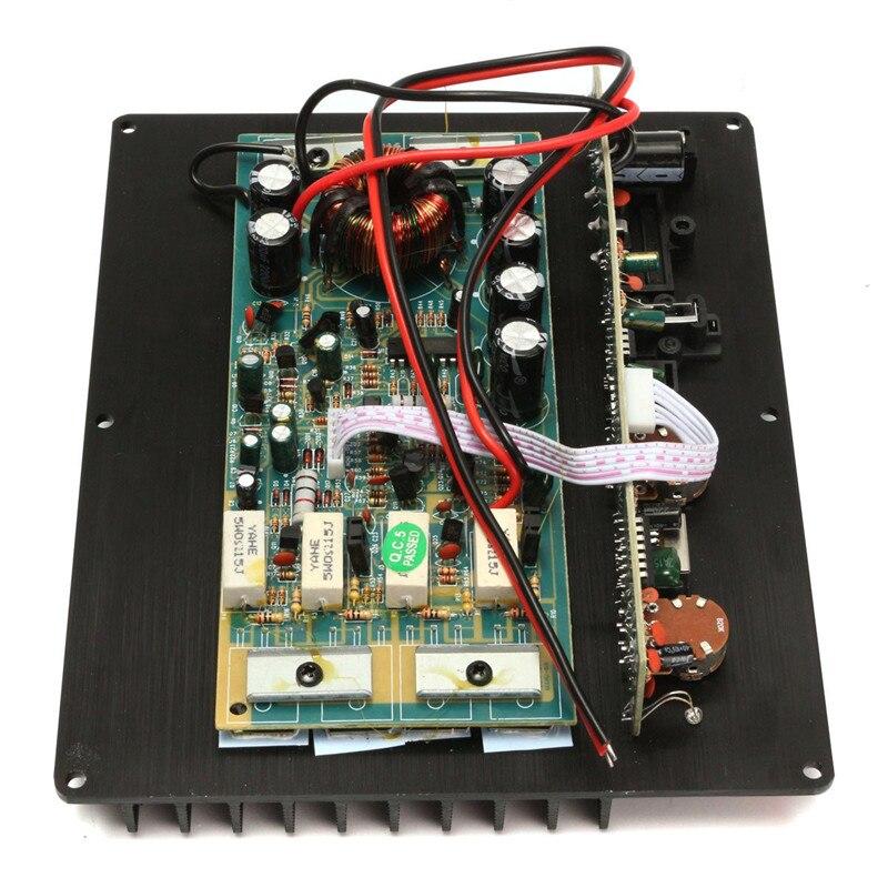 Авто аудио HIFI Высокая Мощность сабвуфер 200 Вт 12 В сабвуфер Усилители домашние доска AMP MB
