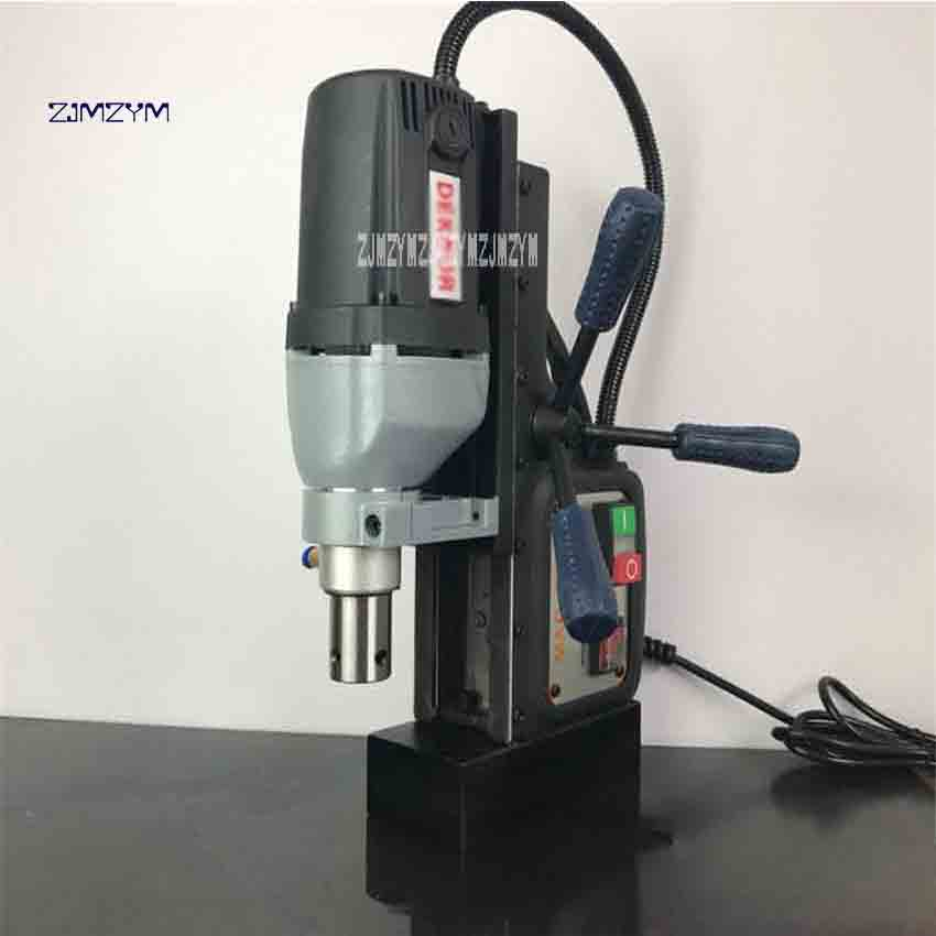 New Arrival DK35 Hollow Drill Portable Magnetic Drill For Steel Board Hole Machine Core Drilling 230V 1200W 595 r/min 1~35mm 35mm ncctec core drill magnetic base drills nmd35c 1 4 14kg net weight 1200w
