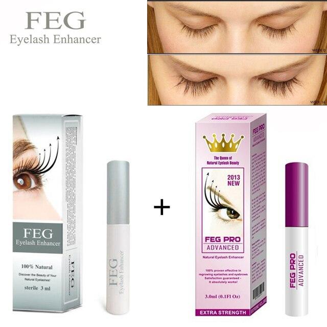 Feg Eyelash Enhancer Serum Eyelash Growth Treatment Natural Herbal