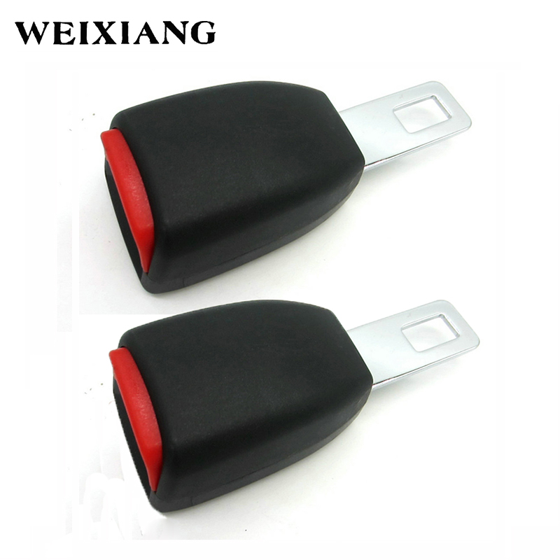 E24 2 x Car Seat Belt Clip Extender Safety Belts Extension Safebelt ...