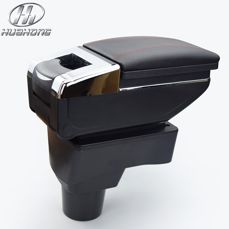Prix pour Voiture accoudoir central Magasin contenu boîte De Rangement avec porte-gobelet cendrier accessoires pour Chevrolet Aveo Sonic Lova 2011-2014