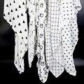 Ainaan muselina swaddles algodón del bebé para el bebé recién nacido mantas toalla de baño de gasa blanco y negro