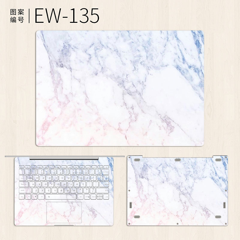 Laptop Sticker for Xiaomi Mi Notebook Air 12 13 Pro 15 6 White Marble Vinyl Decal Skin for Xiaomi Gaming Notebook 15 6 inch Case in Laptop Skins from Computer Office