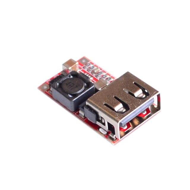 DC 6-24 В 12 В/24 В до 5 В USB Выход зарядное шаг вниз Питания модуль Dc-dc Step Up Повышение Модуль Питания Регулируемый понижающий Преобразователь