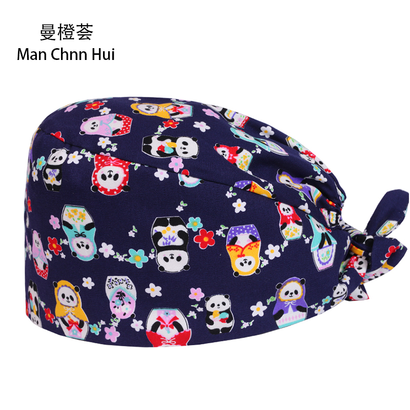 Aliexpress Buy New Pixie Style Tieback Scrub Hats Surgical