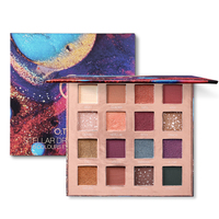 9 Colors Eyeshadow Palette Beauty Glazed Makeup Pallete makeup brushes Makeup Palette Shimmer Pigmented Eye Shadow maquillage