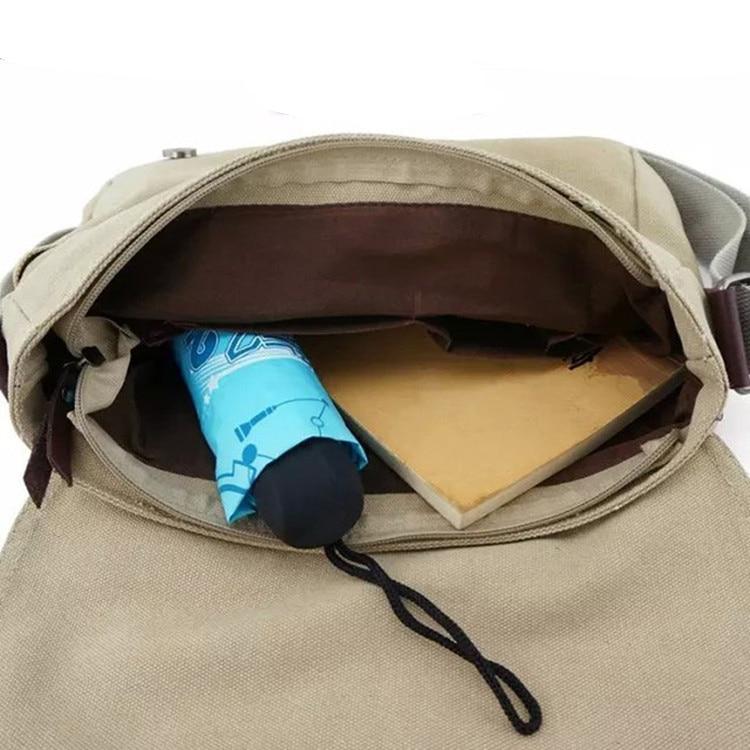 Naruto Ninja Anime Village Hidden in the Leaves Boys Girls StudentsMessenger Handbag Bag Shoulder Bags School Book Bag