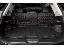 Черный полиуретановый коврик для заднего багажника 3p коврики