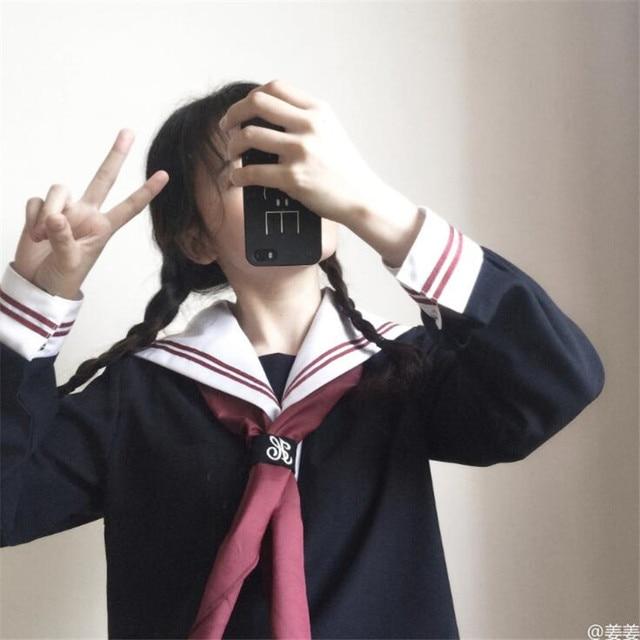 Японская школьная форма модель 5 2