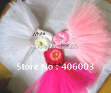 hot selling 2012 baby flower girl dress pink(China)