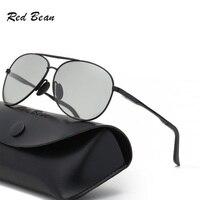 width 143 New photochromic polarized goggle sunglasses men's anti UV retro fishing driver mirror eyewear male oculos sunglasses