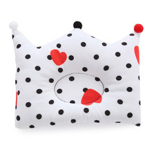 Baby Pillow Newborn Baby Cushion Sleep Positioner Support Pillow Crown Dot Shaping Room Decoration Accessories Anti Roll Pillow(China)