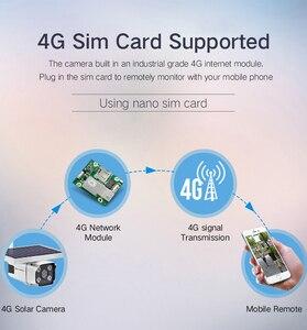 Image 5 - Hebeiros 4G SIM כרטיס שמש סוללה מצלמה 1080P עמיד למים חיצוני IP Wifi מצלמה אודיו אלחוטי אבטחת מעקב טלוויזיה במעגל סגור